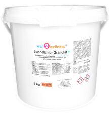 Schnellchlor Granulat+ (schnell lösliches Chlorgranulat 60% +Flockmittel) 5,0 kg