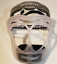 Worth Face First Fielder's Protective Mask- Euc - Free Shipping!