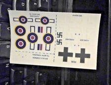 1/72 FROG Dornier Do 335 A-6/ -12 ARROW Decal Sheet