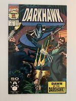 DARKHAWK 1 MARCH 1991 MARVEL COMICS 1ST APPEARANCE DARKHAWK 9.2 NM-