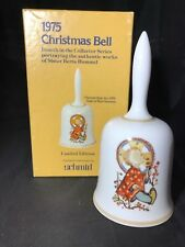 Vintage Holiday Schmid Sister Berta Hummel 1975 Christmas Bell; In Box Germany