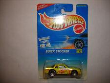 1996 Hot Wheels Yellow Buick Stocker #472 Rare Nice NIP VHTF FREE SHIPPING LOOK!
