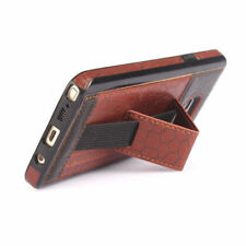 Patterned Leather Mobile Phones Fitted Cases with Strap