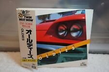 A1719 TWIN BEST NOW / OLDIES JAPAN CD X 2 CP20-5647~8 PAPER CASE WITH OBI
