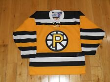 Vintage Reebok CCM PROVIDENCE BRUINS Youth AHL Stitched Hockey Team JERSEY S / M