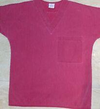 S.C.R.U.B.S. 1 pocket scrub Top Cranberry Women Size XS - 100% Cotton