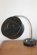 Grande Lampe en Métal Vintage Industrielle Ancienne Seventies