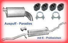 Abgasanlage Auspuff VW Sharan I 1.9 TDi (Typ 7M8, 7M9, 7M6) 90PS & 115PS + Kit