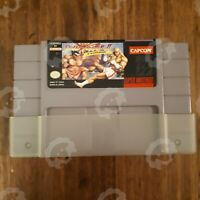 Super Street Fighter II 2 Turbo ( Super Nintendo SNES ) Authentic/Cleaned/Tested