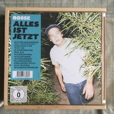 CD Bosse Alles ist jetzt Box-Set OVP Holz-Box / Live-CD & DVD / 2CD Deluxe