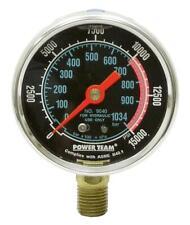 "New listing Power Team 9040 0-15000 Psi 2.50"" Dia Dry Gauge"