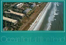 Aerial View of Hilton Head Island, South Carolina, Forest Beach Area - Postcard