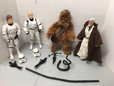 "Star Wars 12""Luke Skywalker Han Solo Stormtrooper Dianoga Obi-WAN Chewbacca"