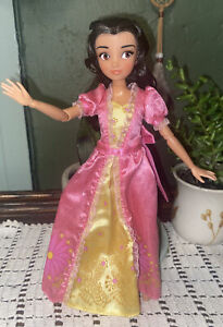 """Disney Store Articulated Doll Elena of Avalor Princess Isabel 10"""" Great Hair"""