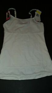 Flexees by Maidenform Long Length Camisole FAT FREE DRESSING SZ. M 3266 DAMAGED