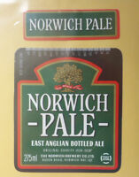 BRITISH VINTAGE BEER LABEL - NORWICH BREWERY, NORWICH. EAST ANGLIAN ALE