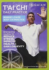 Tai Chi Daily Practice DVD NEW SEALED  Bonus Lower Body Chi Practice FREE SHIPPI