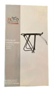 ROADMASTER Cycle Alloy Rear Bicycle Pannier Rack - Luggage Carrier Bike Boxed