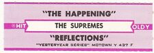 Juke Box Strip The Supremes - The Happening / Reflectons