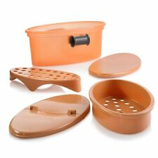 Pasta N More 5 In 1 Perfect Non-Stick Pasta Cooker, Copper - As Seen On TV,