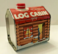 Vintage Log Cabin Syrup Tin 100th Anniversary 1887-1987 EMPTY
