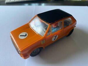 Carrera UNI Universal oranger Golf noch sehr schön..Radkästen 40635