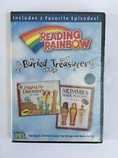 Reading Rainbow - Buried Treasures (DVD, 2006) New Sealed