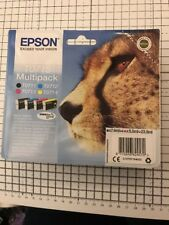 Genuine Epson T0715 Ink cartridges Original Cheetah. 11/2020 In Original Package