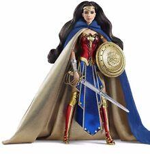 Barbie Amazon Princess Wonder Woman Doll SDCC Exclusive 2016 Gold Label