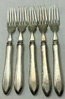 Vintage Japan Seki HKK 5 Luncheon Dinner Forks Stainless Lot B
