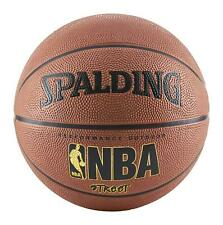 "Spalding NBA Basketball Street Ball Indoor Outdoor Official Size-7 29.5"" Brown"