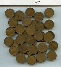 35 Pcs. 1919-S Lincoln 1C (#5147) Fine or Better. Most Better. Few with Light Is