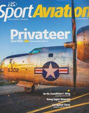 EAA Sport Aviation June 2016 (PB2Y Privateer, Young Eagles Junkers F13 Replica)
