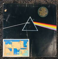 Pink Floyd Dark Side of The Moon  SHVL804 Stereo, Light Blue Triangle.