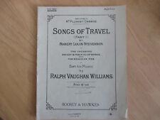 Piano Music Songs of Travel by Robert Louis Stevenson Music Ralph V. Williams.
