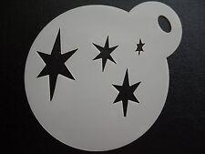 Taglio laser piccoli Cutie Mark Stelle Design CAKE, biscotti, CRAFT & Face Painting Stencil