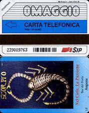 OMAGGIO C&C 3157 GOLDEN 65 - BAR DEL PORTO AUGUSTA - SCORPIONE - NUOVA