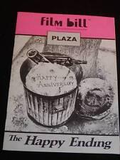 "Vintage SOUVENIR Movie Program ""The Happy Ending"" c1969, ""Film Bill"" Movie Mag."