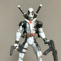 "3.75"" Rare MARVEL LEGENDS DEADPOOL UNCANNY X-Force Deadpool Action Figure Toy"