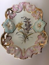Ct Carl Tielsch Altwasser Hand Painted Porcelain Plate - Germany 1870-1900