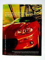 "1998 Camaro Z 28 Apologies And Excuses Original Print Ad 8.5 x 11"""