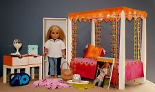 Original 2008 American Girl Doll JULIE ~ Doll, Bed, Accessories  Retired Version