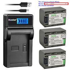Kastar Battery LCD Charger for Sony NP-FP70 FP71 & DCR-DVD92 DCR-HC16 DCR-HC18