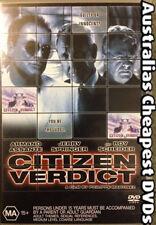 Citizen Verdict DVD NEW, FREE POSTAGE WITHIN AUSTRALIA REGION 4