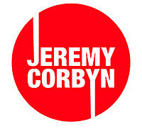 2 X Jeremy Corbyn Pegatina de vinilo, etiqueta, ventana, portátil, pared, espejo 10cm (ref 320)