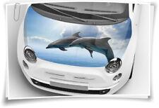 Delphine Delfine Delfin Motorhaube Auto-Aufkleber Folie Airbrush Car Wrapping