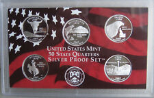 2007 State 90% SILVER QUARTER Proof Statehood 5 Coin ONLY No Box Made In America