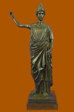 Maiden Bust By French Artisian Bronze Sculpture Art Deco Nouveau Home Decor Sale