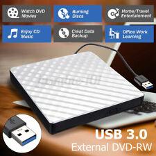 Externes DVD Laufwerk USB 3.0 Brenner Slim CD DVD-RW Brenner für PC Laptop ABS