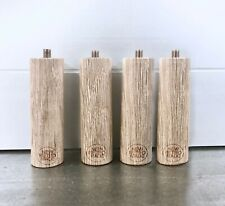 Furniture legs, wooden cylindrical 10cm, 30 mm diameter/sofa legs replacement
